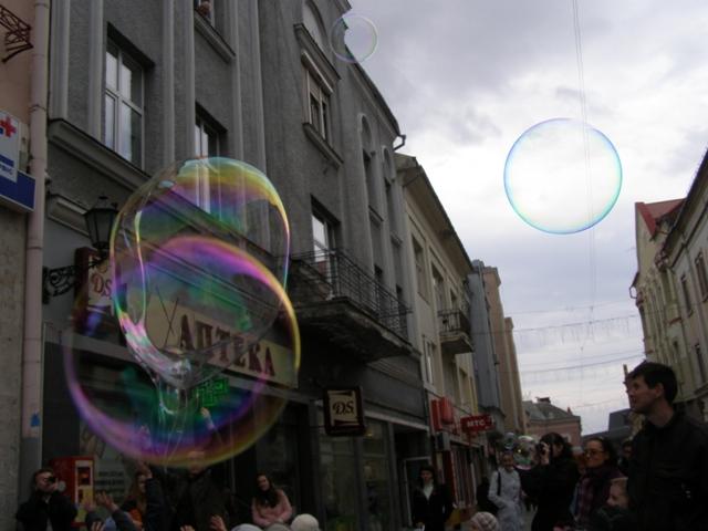 Фестиваль повітряних кульок в Ужгороді, 2012 рік