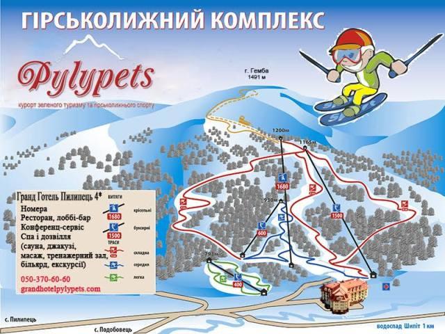 карта Пилипець