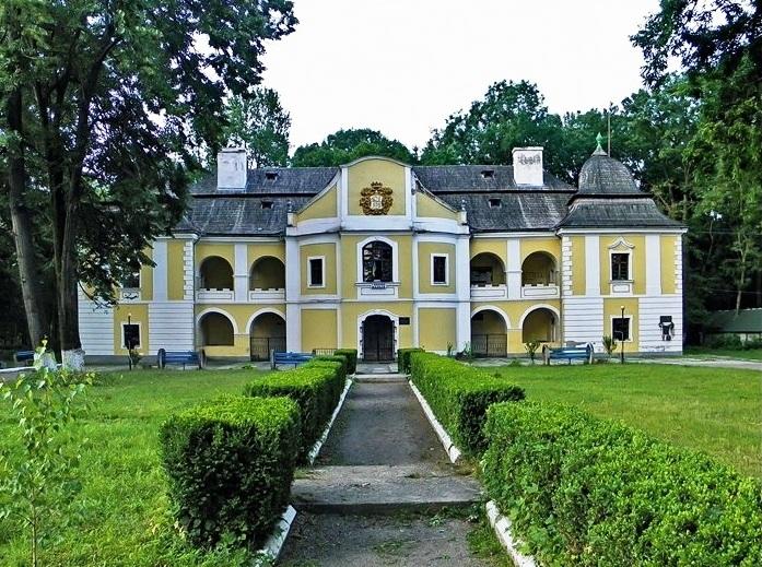 Парк та палац барона Перені у м. Виноградів
