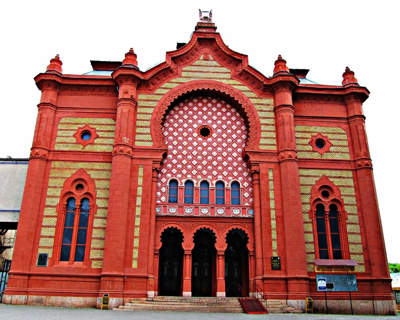 Ужгород синагога євреїв ашкеназі