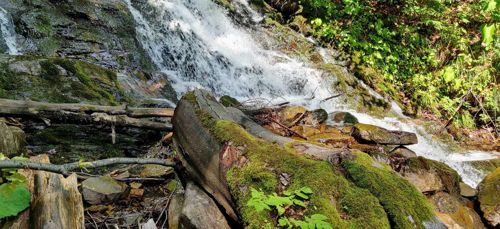 Карпати – водоспад Труфанець