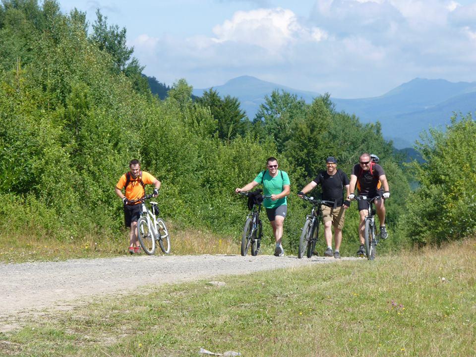 велопоходи в Карпати