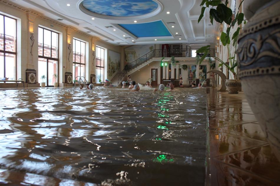 геотермальні води Закарпаття: Берегово, ГРК Жайворонок