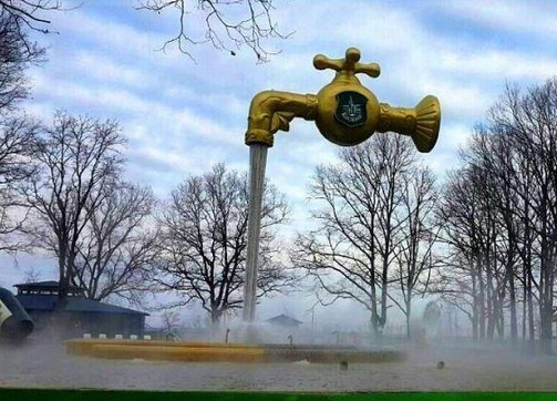 Термальні води «Косино» – фонтан-ілюзія