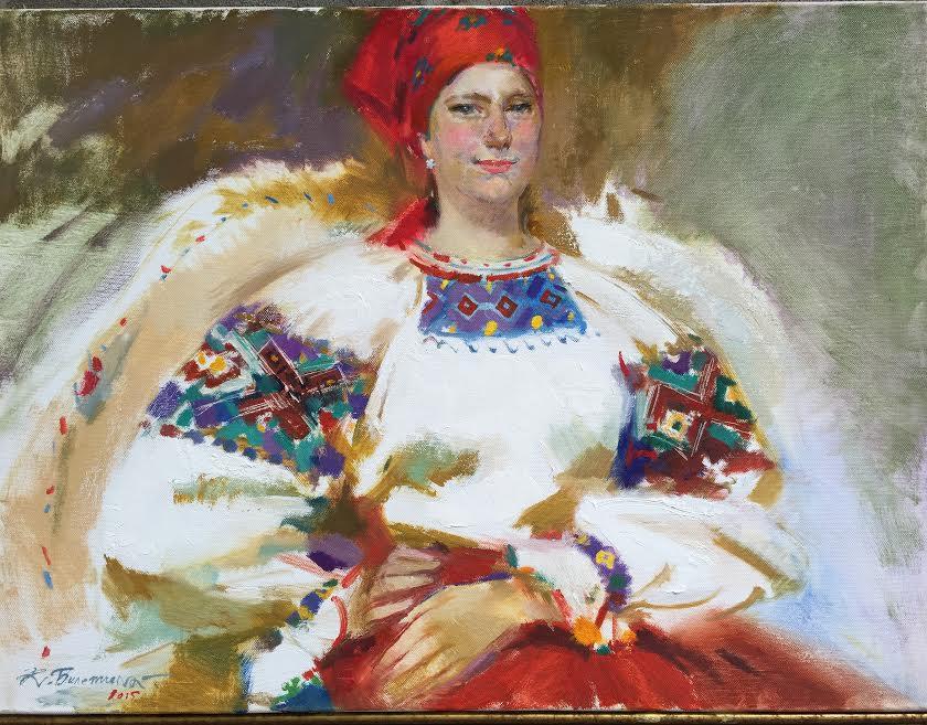 Виставка творів Катерини Білетіної в Ужгороді.