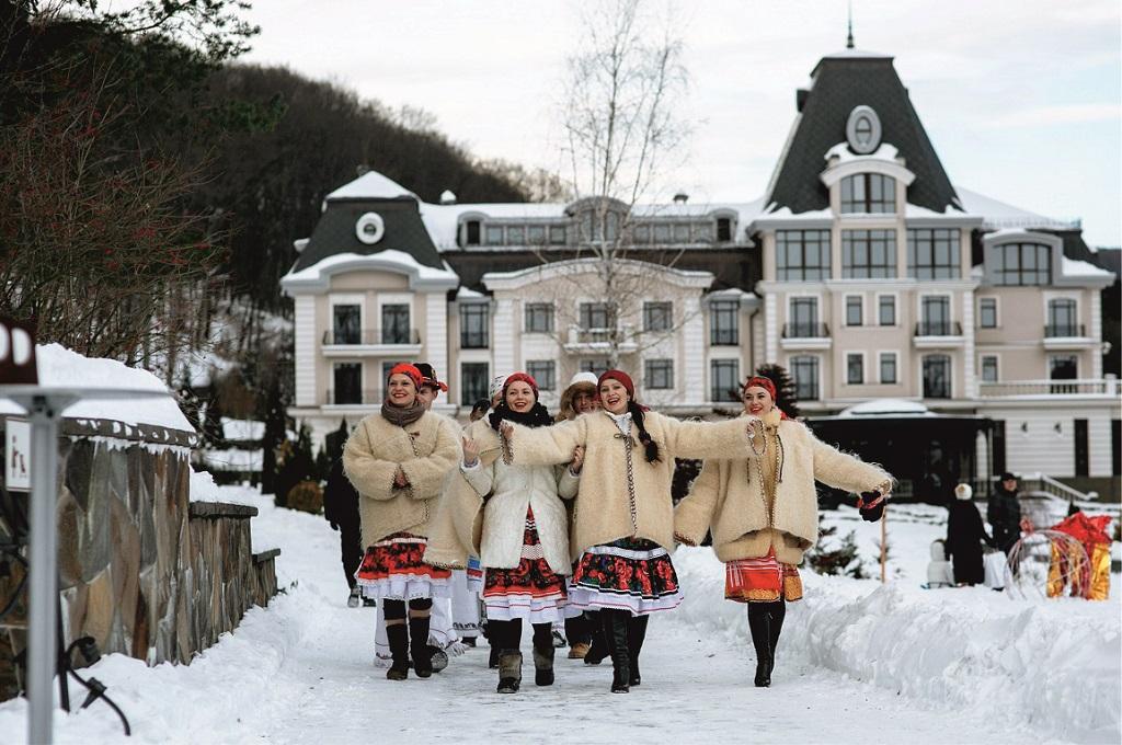Проведіть новорічний корпоратив на курорті «Деренівська Купіль»