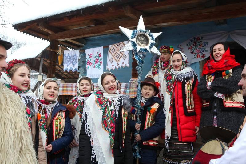 Фестиваль Коляда в старому селі