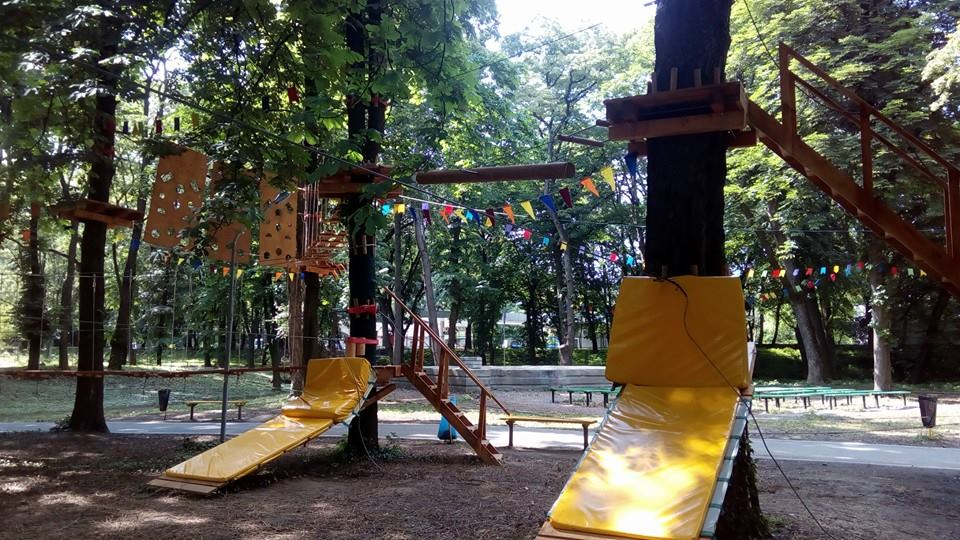 мотузковий парк Тарзан