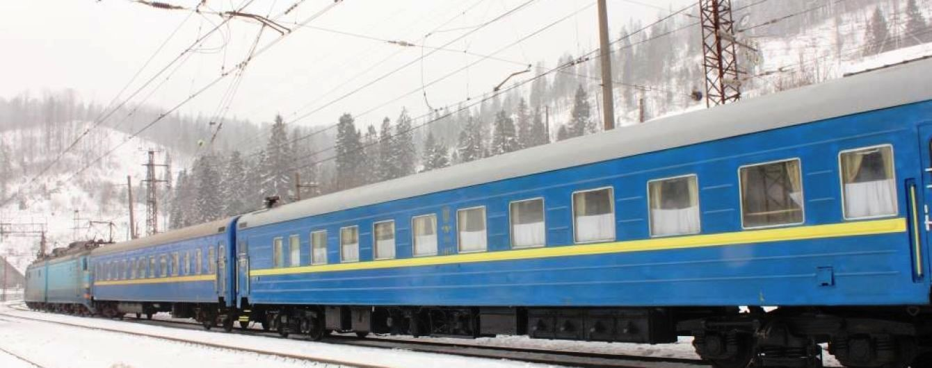 Укрзалізниця призначила додатковий поїзд Львів – Ужгород на Новий рік