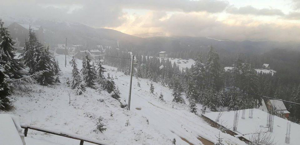 Зима на курорті Драгобрат