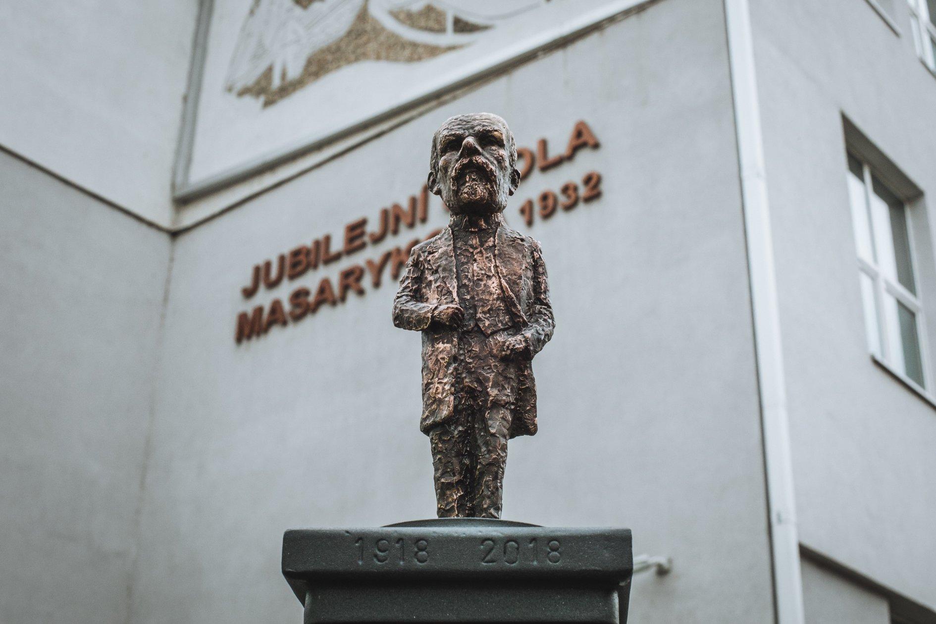 Скульптура Масарика
