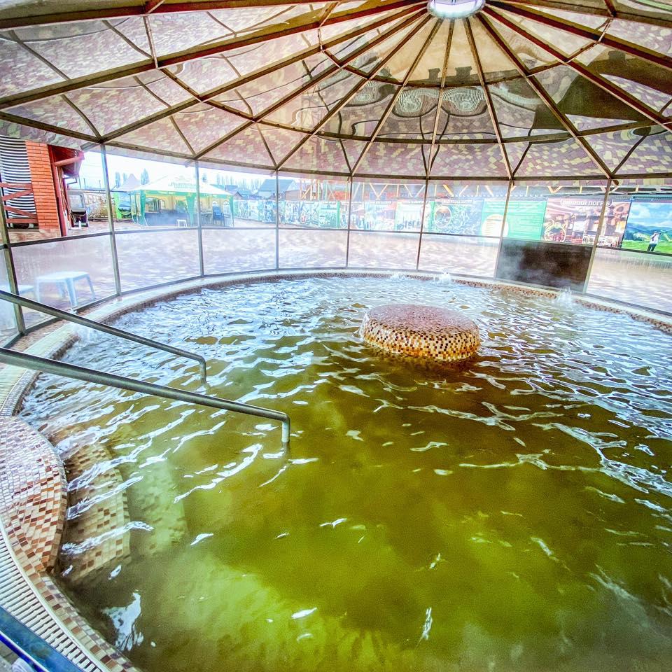 Термальне джакузі – відпочинок в Берегово