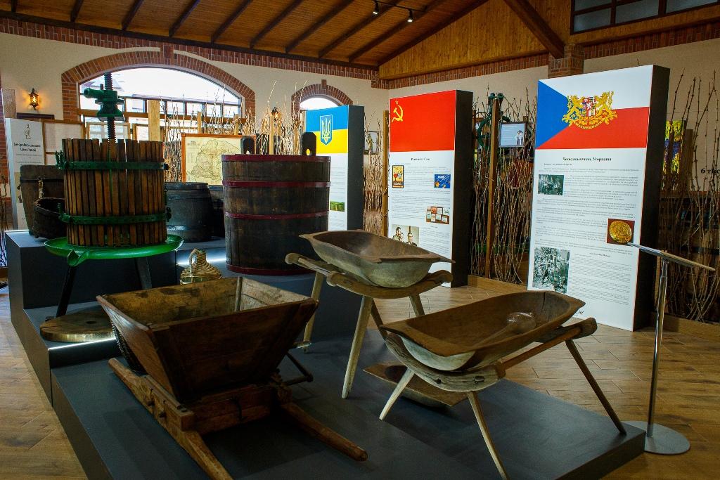 інтер'єр і експонати Музею