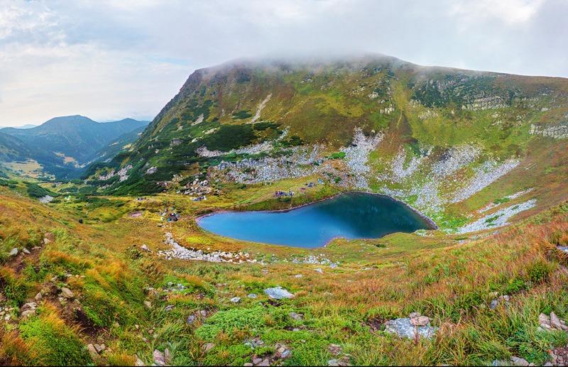 Дивовижне озеро Бребенскул – найвисокогірніше в Україні