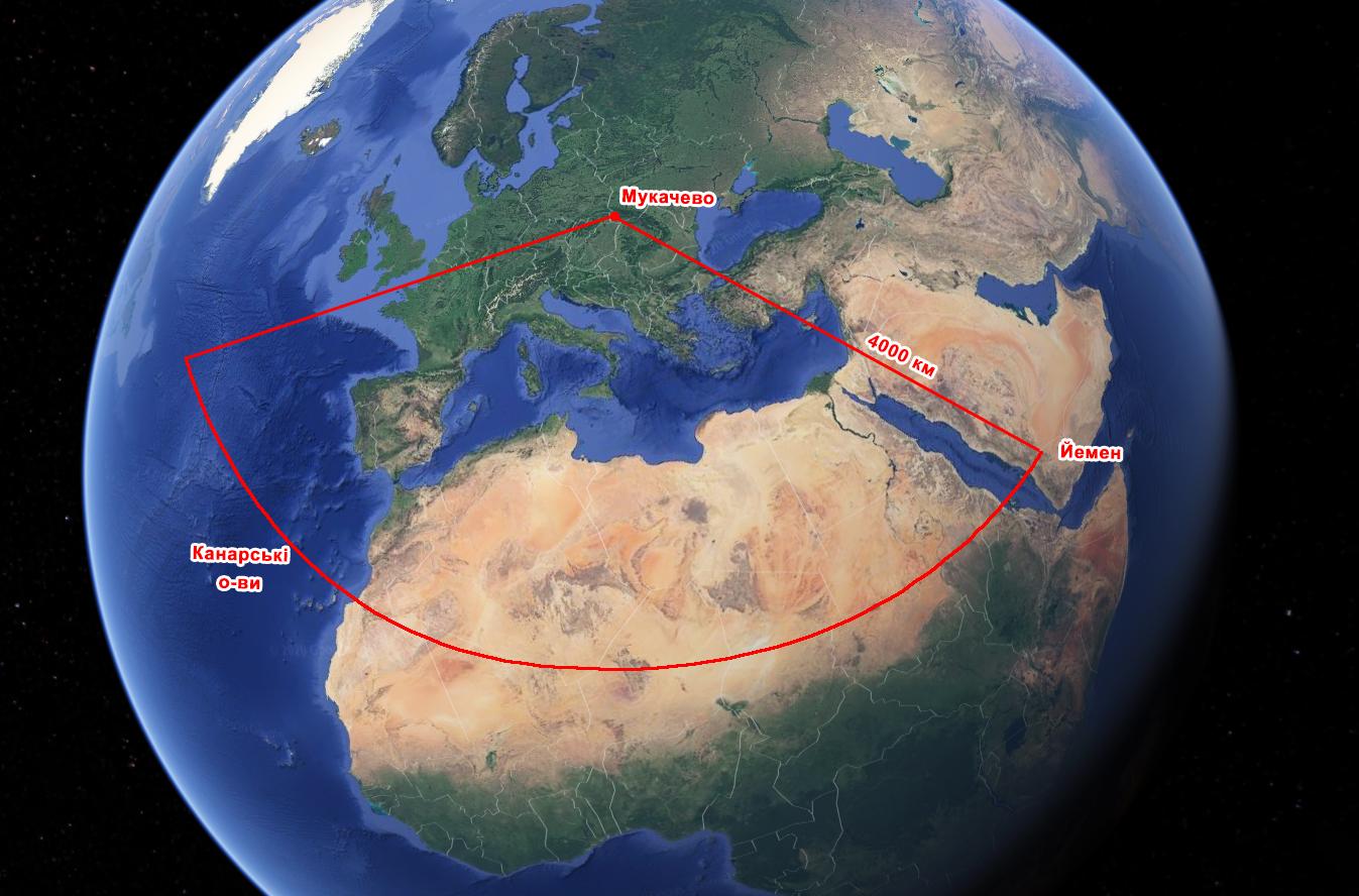 Унікальна екскурсія в Мукачево, на секретний об'єкт, що здатний виявити запуск ядерних балістичних ракет на відстані 4 тисяч км, в регіоні Середземного моря та Європи.