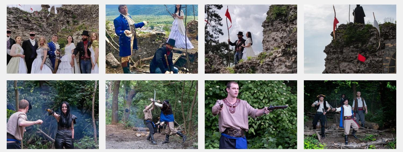 """Містична вистава-екскурсія """"Подорож до замку"""" створена за мотивами п"""
