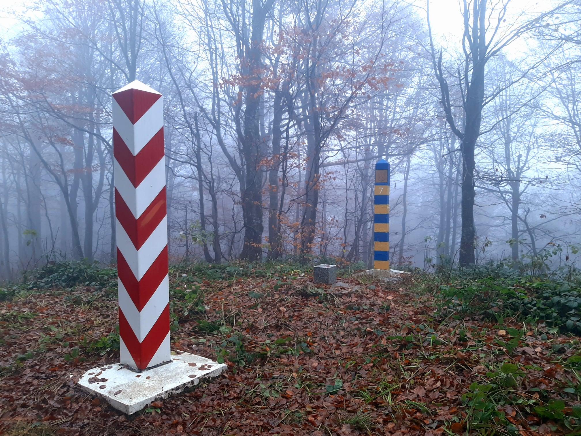 кордон, Ужанський природний парк