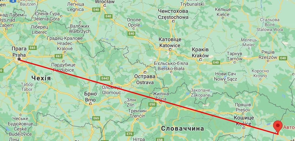 Автобус Ужгород Прага відправляється щоденно, вартість квитків від 1200 грн у одну сторону, залежно від перевізника, автобуси прибувають на різні автовокзали міста Праги.