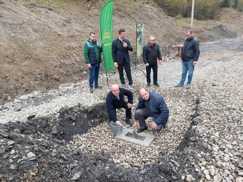 Начинается строительство дороги на Драгобрат, народные депутаты Украины способствуют развитию инфраструктуры, привлекательности горнолыжной территории Драгобрат.
